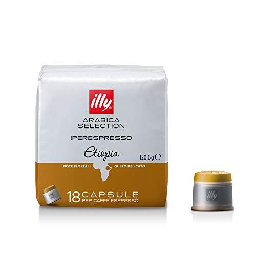 Illy 18 Capsule di Caffè Iperespresso Arabica Selection Etiopia
