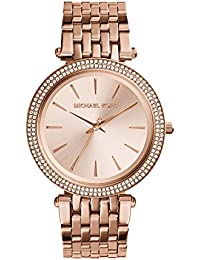 Michael Kors Analog Rose Dial Women's Watch - MK3192
