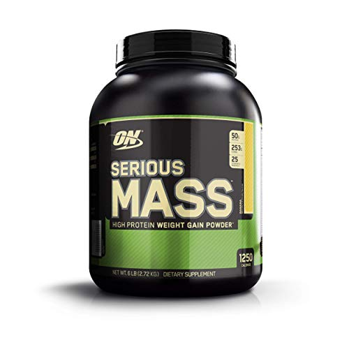 Optimum Nutrition Serious Mass Proteine Polvere per Aumentare la Massa Muscolare
