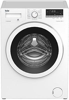 Beko WTE7633XW0 lavadora - Lavadora, Carga frontal, Independiente, Color blanco, Izquierda, A+++