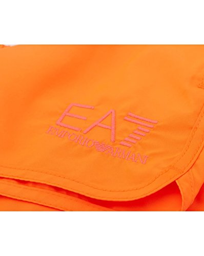 Emporio Armani Ea7 Meer Hell Der Herren Schwimmen Kurze Hose, Rosa Fluo Orange