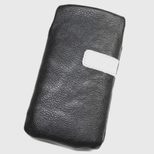 Schutzhülle Tasche Lederoptik schwarz L für ZTE Startrail Edition