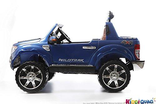 elektroauto f r kinder 2 sitzer ford ranger 12 v 2 motoren lack blau metallic alles rund. Black Bedroom Furniture Sets. Home Design Ideas