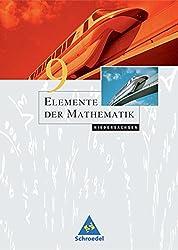 Elemente der Mathematik SI - Ausgabe 2004 für Niedersachsen: Schülerband 9