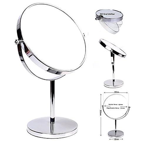 Miroir Grossissant 8 Fois - HIMRY Miroir Maquillage, 7X Grossissement, Ø 20
