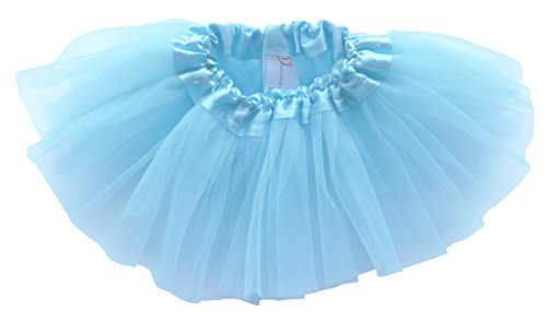 Dancina Baby und Neugeborenen Tüllrock Tutu Himmelblau 0-5 Monate (Aqua Tanz Kostüm)