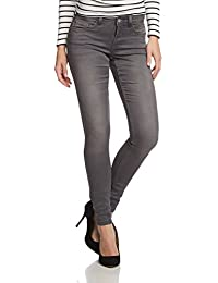 ONLY Damen Skinny Jeans Ultimate Soft Reg. Grey Noos 15090585