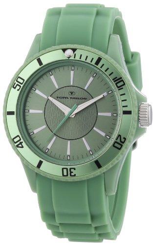 TOM TAILOR Unisex-Armbanduhr Analog Quarz Silikon 5407909