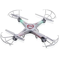 Star Ufo Drone 4 Canales 6-Ejes Gyro RC Quadcóptero Sin Cámara con Mando