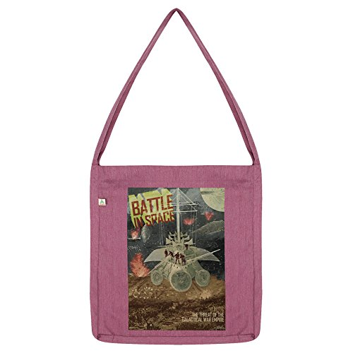 Twisted Envy Galactic Battle in Space Tote Pink