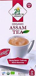 24 Mantra Organic Assam Tea, 25 tea bags x 2