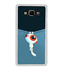 Cute Cartoon 2D Hard Polycarbonate Designer Back Case Cover for Samsung Galaxy A8 (2015 Old Model) :: Samsung Galaxy A8 Duos :: Samsung Galaxy A8 A800F A800Y