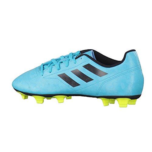 adidas Herren Conquisto Ii Fg Fußballschuhe Mehrfarbig (Energy Blue S17/core Black/solar Yellow)