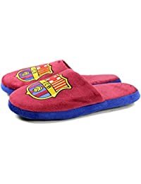 FC Barcelona Official - Pantuflas/Zapatillas de andar por casa de dos colores