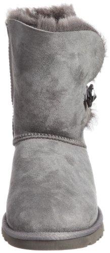 UGG  UGG W Bailey Button Bling, Bottes non-fourrées à enfiler, tige mi-haute femmes gris (Grey)