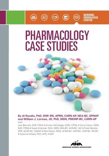 Pharmacology Case Studies by Al Rundio (2015-12-03)
