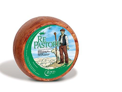 4 kg - pecorino semicotto - prodotto in sardegna da murgia formaggi, a marrubiu. formaggio di pecora semistagionato semicotto dal sapore deciso e intenso
