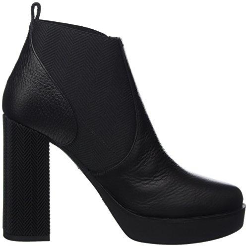 Pollini Damen W.Ankle Boot Chelsea Schwarz (Nero)