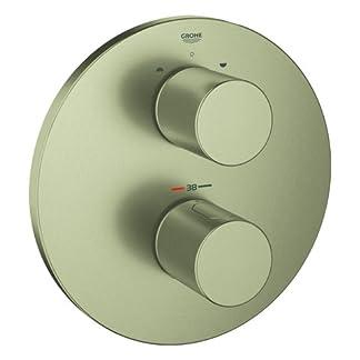 Grohe Grohtherm 3000 Cosmopolitan termostato parte exterior baño Brushed Nickel