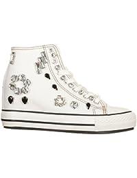 Woz  Sneakers con Zeppa Interna Bianco a12f7147562