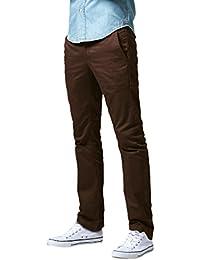 Match Herren Slim Straight Casual Hose #8036