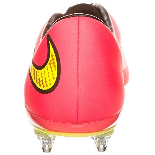 Nike HYPERVENOM Phatal FG, Chaussures de Football homme Cramois vif/Hyper punch