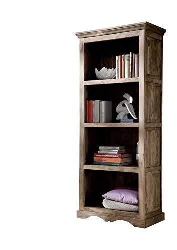 MASSIVMOEBEL24.DE Möbel massiv Holz Palisander geölt grau Regal Sheesham Kolonialstil Massivholz Möbel Leeds #46