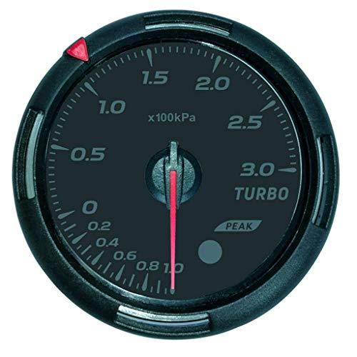 Voltage Meter Gauge 60mm Auto LKW LED Turbo Ladedruckanzeige Meter zum Auto Automobil Kraftfahrzeug