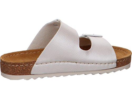 Romika Damen Ontario 01 Pantoletten, Weiß (Weiss), 36 EU
