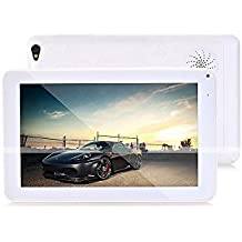 ibowin® P940 9 Pulgadas Allwinner A33 Quad Core Android PC 1G RAM 8G Memoria 1024x600 HD Resolution Tablet PC WIFI Bluetooth Google Play Store (Blanco)