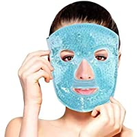 Samson Face Eye Mask Gel Cold Pack - Reduce Puffiness, Bags Under Eyes, Puffy Dark Circles, Migraine - Therapeutic Heat…