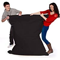 Big Brother Beanbags X-L funky bean bags, great for indoors or outdoors (BLACK)