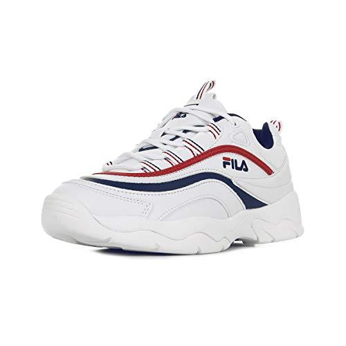 Fila Herren Ray Low 1010561-150 Sneaker, Weiß (White), 43 EU