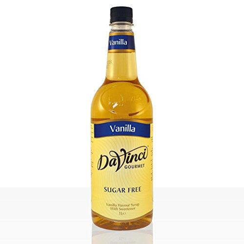 Da Vinci Gourmet Sirup Sugar Free Vanilla 6 x 1000ml