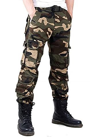 YX–Pantalon–Cargo–Homme, Homme, Camo 11, 38(Waist:96cm/37.7