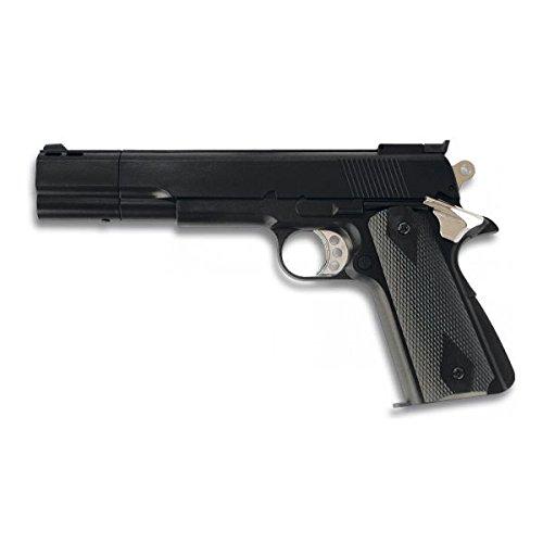 gun. Gas. schwarz. PVC-Kugeln - 6 mm. HFC 0,4 Joules Strom (Gas Gun)