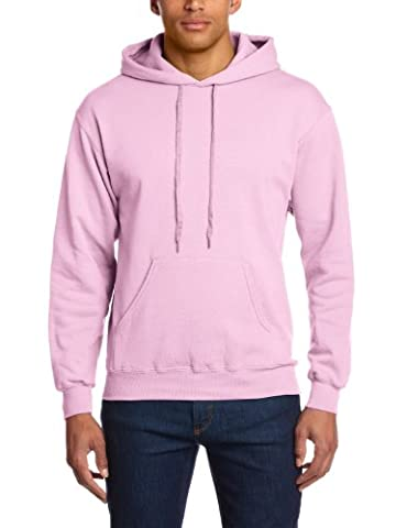 Fruit of the Loom Herren Sweatshirt 12208B, Gr. 48/50 (M), Rosa (52 pink)
