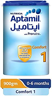 Aptamil Comfort 1 Infant Formula Milk, 900g