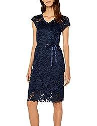 MAMALICIOUS Damen MLNEWMIVANA Cap Jersey Dress Kleid, Blau (Navy Blazer), 34 (Herstellergröße: XS)