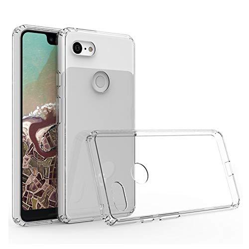 Cubevit Google Pixel 3 XL Hülle, [Crystal Clear] Case Cover, Ultra Dünn Premium Soft TPU Schutzhülle, Kratzfest Durchsichtige Silikon Slim Handyhülle für Google Pixel 3 XL (2018) -Transparent