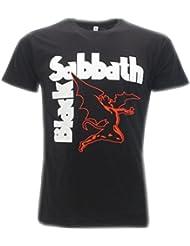 T-Shirt Schwarz Black Sabbath Shirt Original–Lieferung von t-shirteria- XS S M L XL