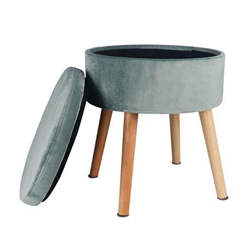 Tabouret, La boîte de stockage de tabouret de stockage de tabouret en bois plein se pliant portative, économise l'espace reste d'intérieur,Tabouret De Canapé