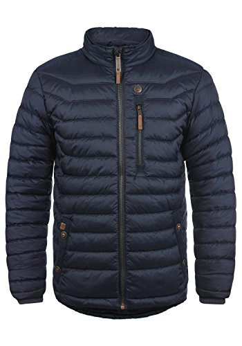 Blend Cemalo Herren Steppjacke Übergangsjacke Jacke Mit Stehkragen, Größe:M, Farbe:Navy (70230)