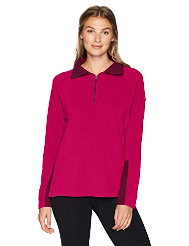Columbia Sportswear Damen Glacial IV 1/2 Zip Fleece Jacket, Rot (Pomegranate, Rich Wine), XL (Columbia-fleece-jacken Frauen)