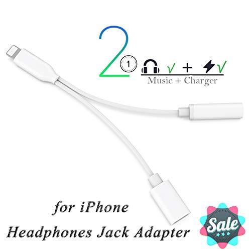 Auriculares iPhone 8 Adaptador Conector 2 1 iPhone