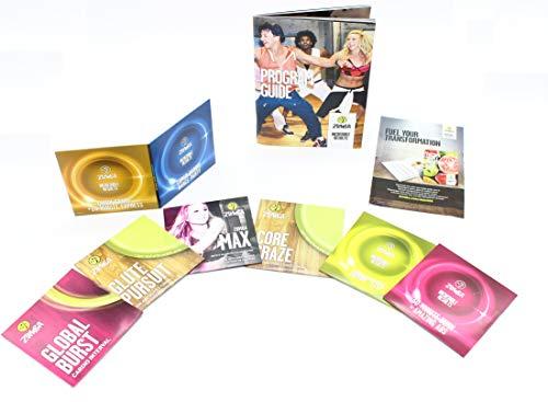 Zumba-Set Incredible Results Gewichtsverlust-Fitness-mit 8 Zumba DVDs, 2 Heften eines Davon zum Downloaden