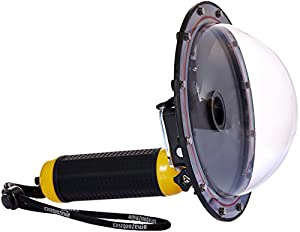 AmazonBasics Dôme submersible pour GoPro HERO3+ & HERO4, Jaune