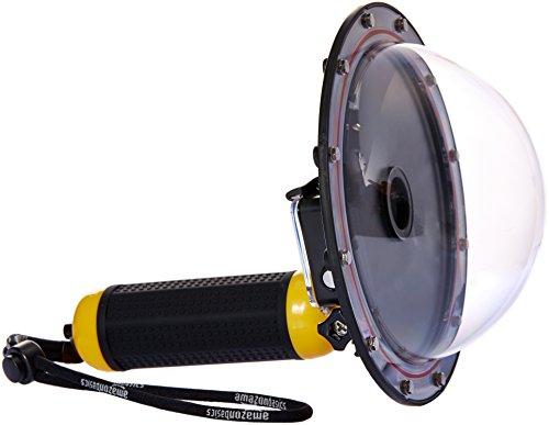AmazonBasics Underwater Dome Port for GoPro HERO3+ & HERO4, Yellow