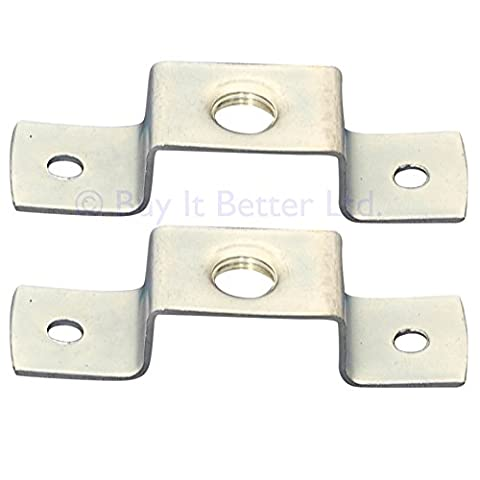 ElekTek Saddle Bracket Fixing Strap Bridge Plate 10mm Entry with BESA fixing Twin Pack
