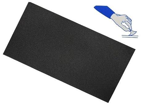selbstklebender Reparatur Aufkleber Flicken - Nylon schwarz wasserabweisend Bekleidung Regenartikel